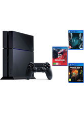 Sony PlayStation 4 With 3 Games Bundle