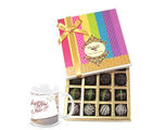Chocholik Fabulous Chocolates Gift Pack With New Year Mug - Belgium Chocolates