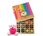 Chocholik Chocolatier Ultimate Dessert Truffles Treat With Teddy - Belgium Chocolates