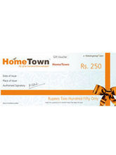 Hometown Gift Vouchers, 5000