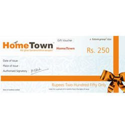 Hometown Gift Vouchers, 250