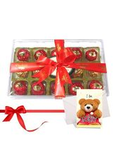 Chocholik Best Collection Of Nicely Wrapped Choco Treat With Sorry Card - Luxury Chocolates
