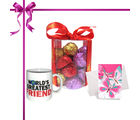Chocholik's Luxury Chocolate With Smartly Sparkle Gift Wrapped With Mug and Love Card