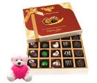 Chocholik Best Collection Of Dark And Milk Chocolate Box With Teddy - Belgium Chocolates