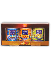 StarNuts Dryfruits Gifts - 3 TIN PACK