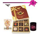 Chocholik 9pc Special Love Combo Wishes With Mug And Card - Belgium Chocolates