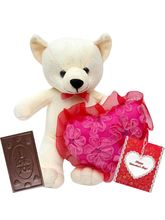 Valentine Romantic cute soft toy charley & chocolate