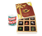 Chocholik Bringing The Royal Touch With Chocolates N New Year Mug - Luxury Chocolates