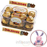 Ferrero Rocher and Toblerone with free Teddy