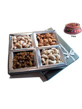 Fab Four Dry Fruit Box Mothers Day Gift