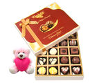Chocholik Beautiful Chocolates With Teddy - Belgium Chocolates