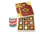 Chocholik Best Wishes With Chocolates N New Year Mug - Luxury Chocolates
