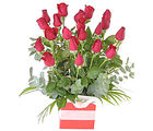 Roses in a Square Box