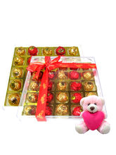 Chocholik Extreme Collection Chocolate Box With Teddy - Luxury Chocolates