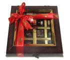 Chocholik Belgium Chocolate Gifts - Decadent Flavors in A Beautiful Wooden Box