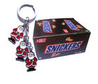 Snickers Box 32 PCS With Santaclause Keychain