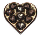Chocholik Belgium Chocolate Gifts - Delightful Chocolate Hearts