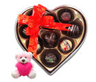 Chocholik Coustomized Chocolates Treats With Teddy - Belgium Chocolates