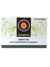 Deve Herbes Green Tea with Lemongrass & Orange 30 Tea bags (incl 5 extra), 50 gms