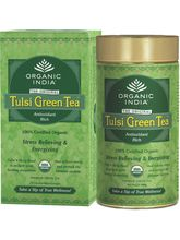 Combe Of Tulsi Green Tin+ 25 Tea Bags