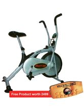 Pro Bodyline Exercise Cycle (Air Bike) With Rowing Facility