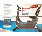 Pro Bodyline Semi Commercial Heavy Duty Club Class Recumbent Bike With 5.6