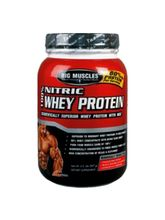 Big Muscles Nitric Whey 10 Lbs