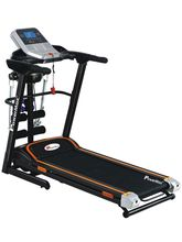 Powermax Fitness TDM-125 Multifunction Motorized Treadmill 2.0 HP Continuous, black