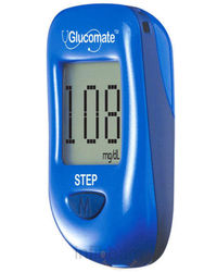 Glucomate Step with Pedometer, blue
