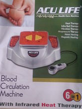 Acculife Oxygen & Blood Circulation Machine with Infrared Heat
