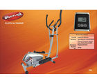 Pro Bodyline High Quality Stylish Elliptical Trainer with Sturdy Frame Structure (Silver)