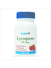 HealthVit LYCOPENE 25 MG 60 Tablets for Healthy Heart
