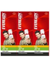 Eveready ELS 27W CFL (Pack of 3) White