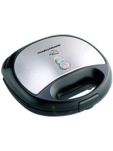 Morphy Richard SM 3006 TWG Sandwich Toaster (Black)