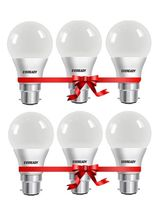 Eveready 9W-6500K Cool Day Light Pack of 6, white