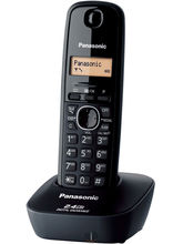 Panasonic KX-TG3411 Cordless Landline Phone, white color