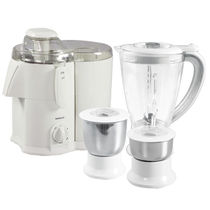 Havells Endura 3 Jar Juicer Mixer Grinder, multicolor