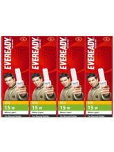 Eveready ELD 15W CFL (Pack of 4) White
