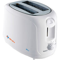 Bajaj ATX 4 Pop Up Toaster,  white