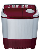 LG Semi Automatic Washing Machine P7255R3FA 6.2KG, burgundy