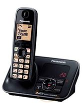 Panasonic KX-TG3721 Cordless Landline Phone (Black)