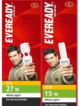 Eveready ELS 27W + ELD 15W CFL Combo (White)