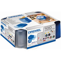 Dremel 100 Piece Multipurpose Modular Accessory Set (720), multicolor