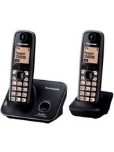 Panasonic KX-TG3712SXB Cordless Phone, black