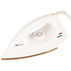 Bajaj DX 7 Non Stick Iron, standard-white