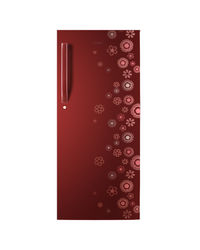 Haier 188 ltrs HRD-2155CRC Direct Cool Single Door Refrigerator, red-circle