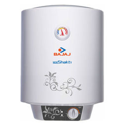 Bajaj New Shakti 10 Ltr Glassline Water Heater, multicolor
