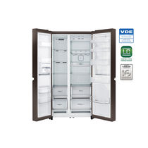 LG 679 LTR Side by Side Refrigerator GC-M247UGLN