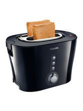 PHILIPS TOASTER HD2630/20 BLACK