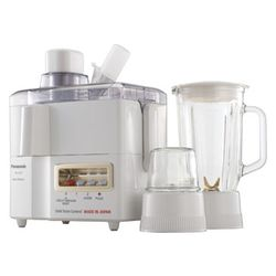 Panasonic MJ-M176P Juicer Mixer Grinder, multicolor
